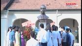 Khánh thành tượng đài cố Tổng Bí thư Lê Hồng Phong