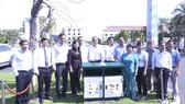 256 thùng rác công cộng được đặt tại 10 phường ở Quận 7