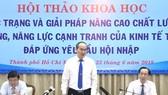 Chủ tịch Nguyễn Thành Phong: Mong các chuyên gia, nhà khoa học đóng góp phát triển bền vững TP