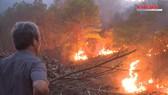 Đánh vật chữa cháy rừng liên tiếp tại Thừa Thiên - Huế
