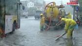 Hà Nội mưa lớn do hoàn lưu bão số 3