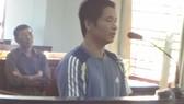 Bị cáo Đông tại phiên tòa