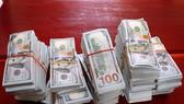 Tang vật USD được lực lượng chức năng thu giữ