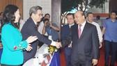 Thủ tướng Nguyễn Xuân Phúc và các đại biểu dự Hội nghị xúc tiến đầu tư Kiên Giang. Ảnh: VGP