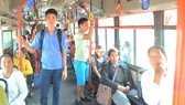 Thí điểm mở làn đường riêng cho xe buýt