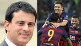 Thủ tướng Pháp chào đón Barca sang Ligue 1