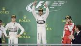 Hamilton lần thứ ba vô địch F1