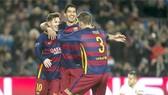 Barca 6-1 Roma: Luis Suarez, Messi rực sáng