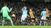 Vùi dập Hull City 4-1, Man City vào Bán kết cúp Liên đoàn