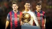 FIFA công bố 3 ứng cử viên Quả bóng Vàng