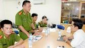 Lãnh đạo Cảnh sát PCCC Bình Tân xin lỗi DN
