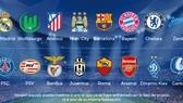 16 đội vào vòng knock-out Champions League