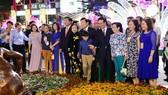 Khai mạc đường hoa Nguyễn Huệ tết Bính Thân 2016