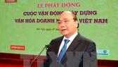 """Phát động """"Xây dựng văn hóa DN Việt Nam"""""""