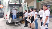 110 cán bộ, công nhân viên EVN SPC hiến máu nhân đạo