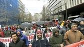 Nam Âu sôi sục tổng đình công
