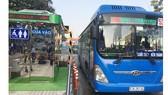 Trạm Điều hành xe buýt trung tâm Bến Thành. Ảnh: QUỐC HÙNG