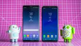 Galaxy S8 Plus và Note 8 có nhiều điểm tương đồng về ngôn ngữ thiết kế và trang bị phần cứng