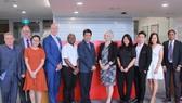 Lãnh đạo Đại học RMIT Việt Nam và Saigon Innovation Hub trong chương trình ký kết hợp tác