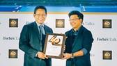 Ông Vũ Minh Trí, Phó Tổng Giám Đốc  VNG nhận danh hiệu