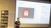 Đại diện hệ sinh thái gannha.com giới thiệu về các tính năng của siêu ứng dụng