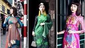 Ấn tượng với nghê Việt trên áo dài truyền thống