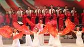 Nghệ sĩ Nhà hát Ca múa nhạc Việt Nam luyện tập nhiều bài hát Triều Tiên