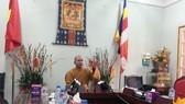 """Thượng tọa Thích Đức Thiện, Phó Chủ tịch Tổng thư ký Hội đồng Trị sự GHPG Việt Nam khẳng định chuyện """"gọi vong giải nghiệp"""" là không có trong giáo lý Phật giáo"""