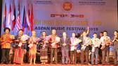 Lễ bế mạc Liên hoan âm nhạc ASEAN 2019