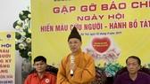 500 tăng ni sinh Học viện Phật giáo Việt Nam cùng tham gia hiến máu, hiến tạng