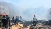 1 chiến sĩ hy sinh, 2 chiến sĩ bị thương trong lúc chữa cháy tại Bình Tân