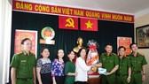 Lãnh đạo TPHCM thăm, tặng quà tết Cảnh sát PCCC, Cảnh sát Hình sự TPHCM