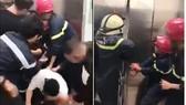 Cứu sống 21 người mắc kẹt trong thang máy