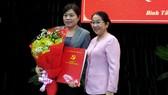 Đồng chí Nguyễn Trần Phượng Trân giữ nhiệm vụ Phó trưởng Ban Dân vận Thành ủy TPHCM