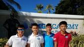 Nguyễn Văn Phương lọt vào tứ kết giải quần vợt trẻ danh giá của Mỹ