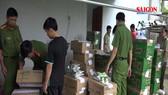 Hậu Giang: Niêm phong 1.800 gói, hộp sữa khiến học sinh phải nhập viện sau khi uống