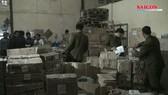 Thu giữ lô hàng phụ gia không rõ nguồn gốc, chuẩn bị chuyển vào Đà Nẵng