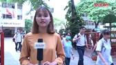 Thí sinh tự tin với ngày thi đầu tiên của kỳ thi THPT Quốc gia 2018