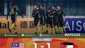 Malaysia thắp lại hy vọng sau trận hòa trước Jordan