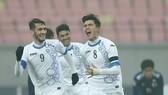 Uzbekistan gây bất ngờ qua chiến thắng 4-0 trước Nhật Bản. Ảnh: AFC
