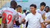 Thầy trò đội bóng phố Núi tại BTV Cup 2018