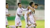 Đội U19 tuyển chọn Việt Nam vô địch tại giải U19 quốc tế 2018. Ảnh: MINH TRẦN