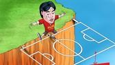 HLV Miura đang thiếu chỗ dựa tinh thần sau khi Công Vinh rời CLB