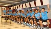 Đội U19 Việt Nam tự tin trước trận gặp Uruguay. Ảnh: Đoàn Nhật