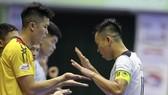 """Vũ """"Neymar"""" cùng các đồng đội đến gần với ngôi VĐQG lần thứ 3 liên tiếp. Ảnh: HOÀNG QUÂN"""