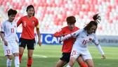Đội tuyển nữ Việt Nam lên hạng 36 thế giới. Ảnh: Đoàn Nhật