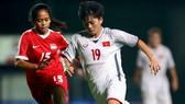 Việt Nam dễ dàng giành 3 điểm trước Singapore. Ảnh: Đoàn Nhật