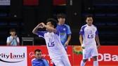 Niềm vui của Thái Sơn Bắc sau chiến thắng trước Sannatech Khánh Hòa
