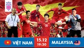 Chiếc Cúp vô địch đang đến gần với tuyển Việt Nam. Đồ họa: HỮU VI