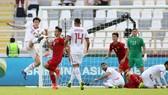 Các cầu thủ Việt Nam đã có 2 trận đấu đầy quả cảm trước Iraq và Iran. Ảnh: ANH KHOA